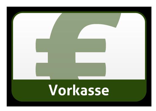 Zahle via Vorkasse